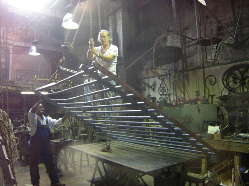 ferronnerie d 39 art atelier fer emeraude bordeaux restauration gironde aquitaine. Black Bedroom Furniture Sets. Home Design Ideas