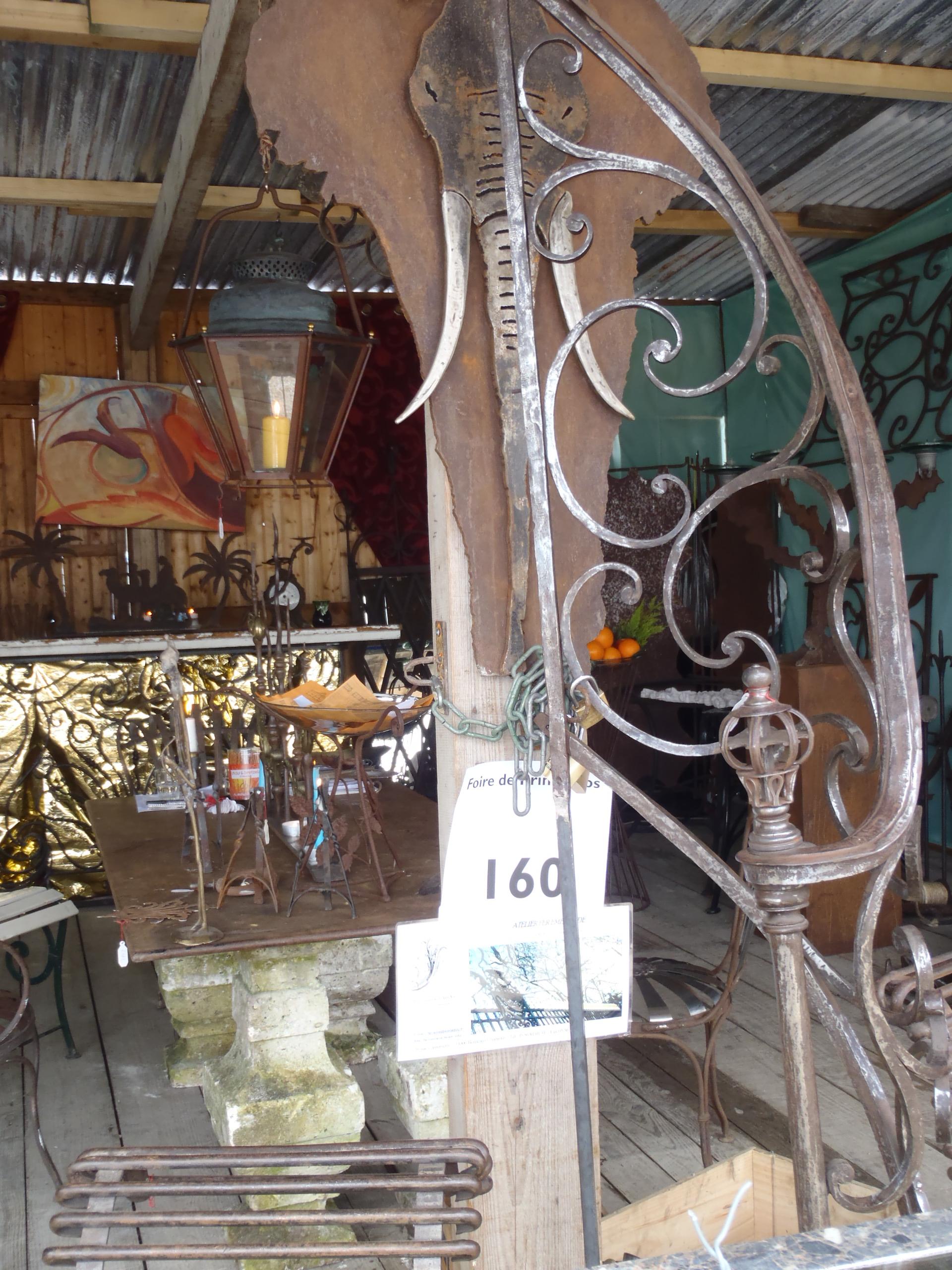 ferronnerie d 39 art atelier fer emeraude bordeaux foire des quinconces gironde aquitaine. Black Bedroom Furniture Sets. Home Design Ideas