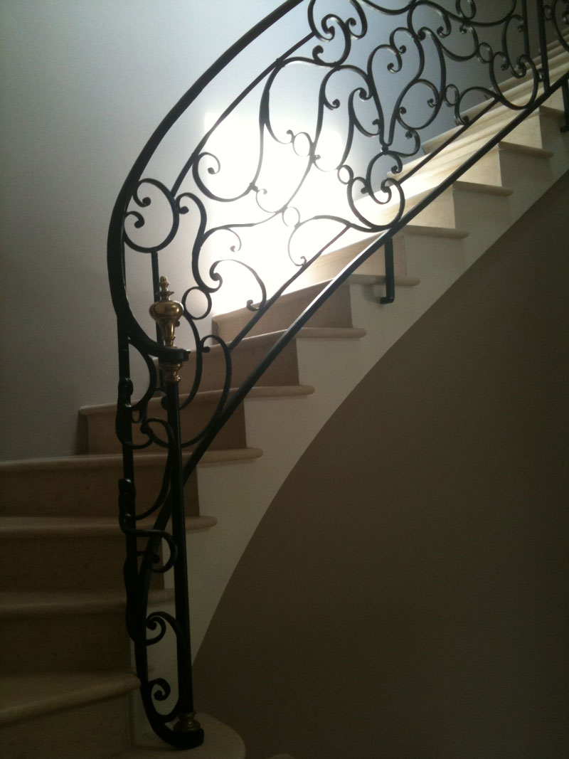 Rambarde fer forge leroy merlin for Rambarde fer forge
